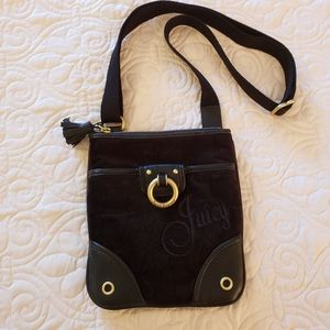 Juicy Couture Small Black Crossbody Bag